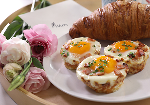 Hash Brown Egg Nests Recipe