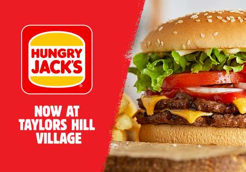 Hungry Jack's is Now Open – Get your flame grilled favs!
